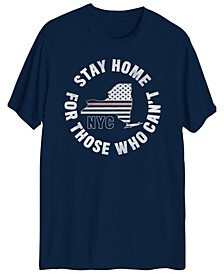 Men's Stay Home NYC Short Sleeve T-shirt