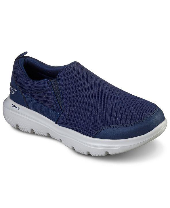 Skechers Men's GOwalk Evolution Ultra - Splinter Slip-On Walking Sneakers from Finish Line