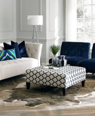 lizbeth fabric sofa living room furniture collection - Macys Living Room Furniture