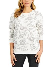 Printed Sweatshirt, Created for Macy's