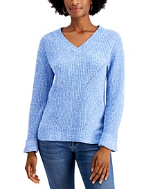 Marled Pointelle Sweater, Created for Macy's