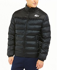 Men's SPORT Two-Tone Colorblock Water-Repellent Puffer Jacket