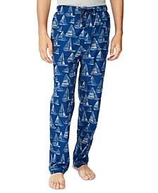 Men's Printed Fleece Sleep Pants