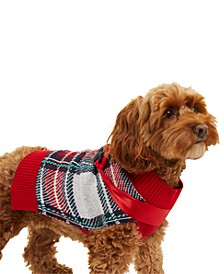 Plaid Dog Sweater, Created for Macy's