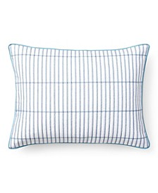 """Sandra Quilted Throw Pillow, 20"""" X 15"""""""