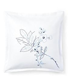 "Sandra Embroidery Throw Pillow, 18"" X 18"""