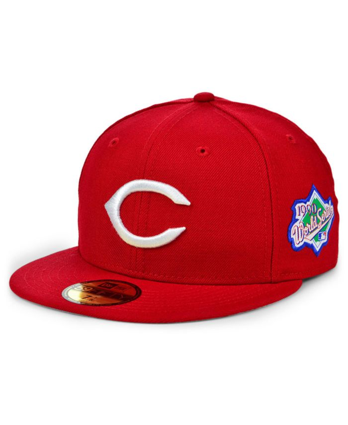 New Era Cincinnati Reds World Series Patch 59FIFTY Cap & Reviews - Sports Fan Shop By Lids - Men - Macy's