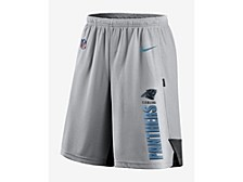 Men's Carolina Panthers Breathe Knit Player Shorts