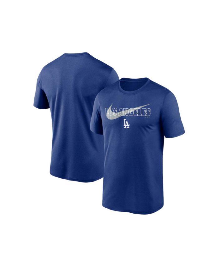 Nike Men's Los Angeles Dodgers City Swoosh Legend T-Shirt & Reviews - Sports Fan Shop By Lids - Men - Macy's