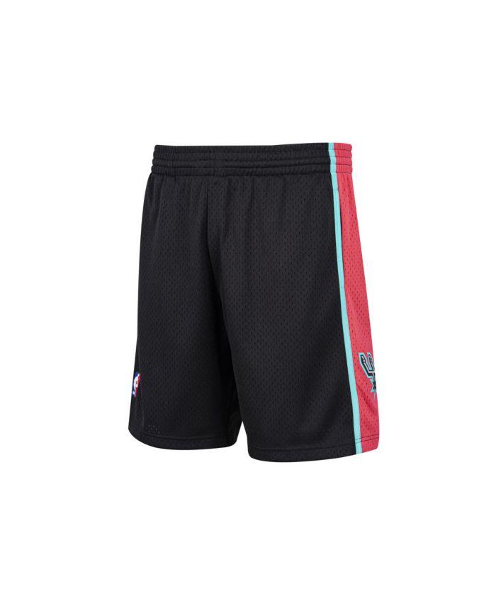 Mitchell & Ness Men's San Antonio Spurs Reload Collection Swingman Shorts & Reviews - Sports Fan Shop By Lids - Men - Macy's