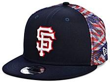 San Francisco Giants Flag Mesh Back 9FIFTY Cap