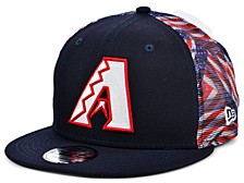 Arizona Diamondbacks Flag Mesh Back 9FIFTY Cap