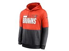 Cleveland Browns Men's Sideline Team Lockup Therma Hoodie