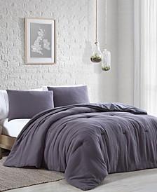 Annika Gauze 3 Piece Comforter Set, King