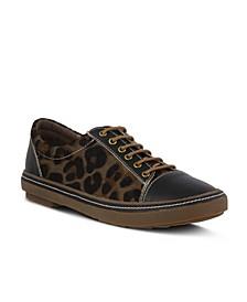 Women's Libbi-Leopard Casual Sneakers