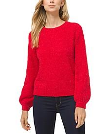 Puff-Sleeve Sweater, Regular & Petite Sizes