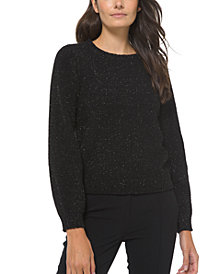 Michael Michael Kors Puff-Sleeve Sweater, Regular & Petite Sizes
