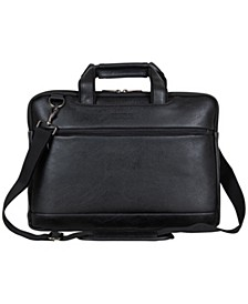 "Vegan Leather 16"" Laptop Business Case"