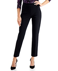 Tummy-Control Pull-On Pants, Created for Macy's