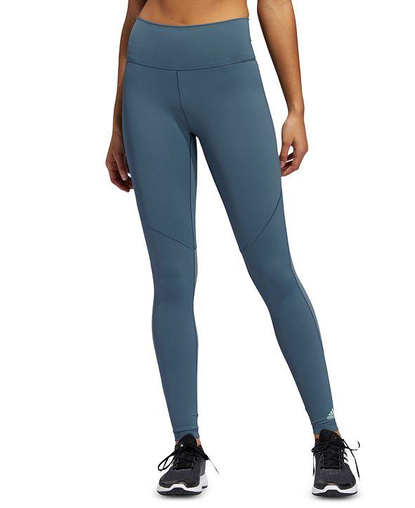 adidas Women's Mesh-Inset Training Leggings