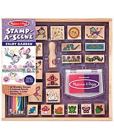 Kids Toy, Stamp-a-Scene Fairy Garden Set