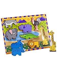 Kids Toy, Safari Chunky Puzzle