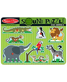Kids Toy, Zoo Animals Sound Puzzle
