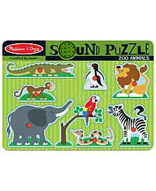 Melissa and Doug Kids Toy, Zoo Animals Sound Puzzle