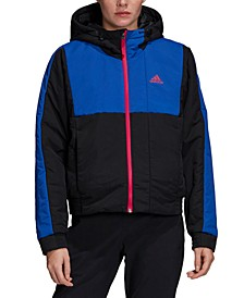 Women's Back to Sport Insulated Hooded Jacket