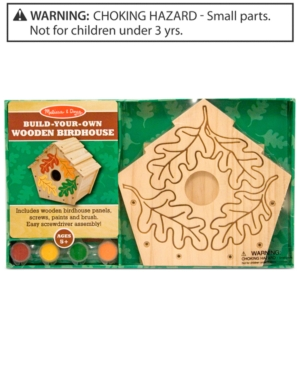 Melissa and Doug Kids Toy BuildYourOwn Wooden Birdhouse