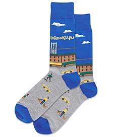 Men's Brooklyn Crew Socks