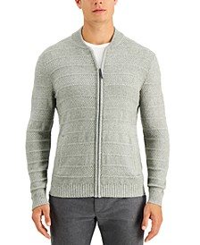 Men's Luxe Zip-Front Sweater, Created for Macy's