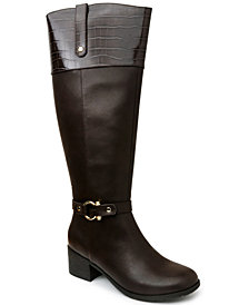 Karen Scott Vickyy Riding Boots, Created for Macy's