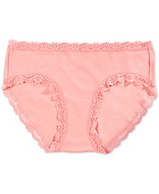Women's Lace-Trim Hipster Underwear, Created for Macy's