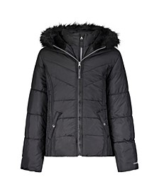 Big Girls Cire Fashion Heavyweight Coat