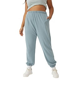 Trendy Plus Size High Rise Sweatpants