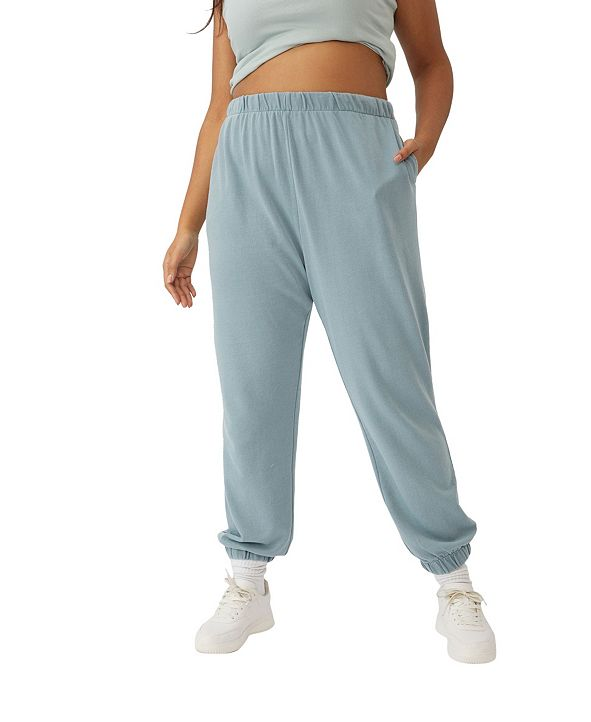 COTTON ON Trendy Plus Size High Rise Sweatpants