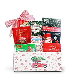 Nostalgic Wooden Holiday Gift Box