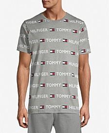 Tommy Hilfiger Men's Modern Essentials Logo-Print Sleep Shirt
