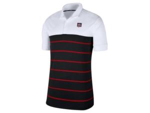 Nike Ohio State Buckeyes Men's Striped Polo