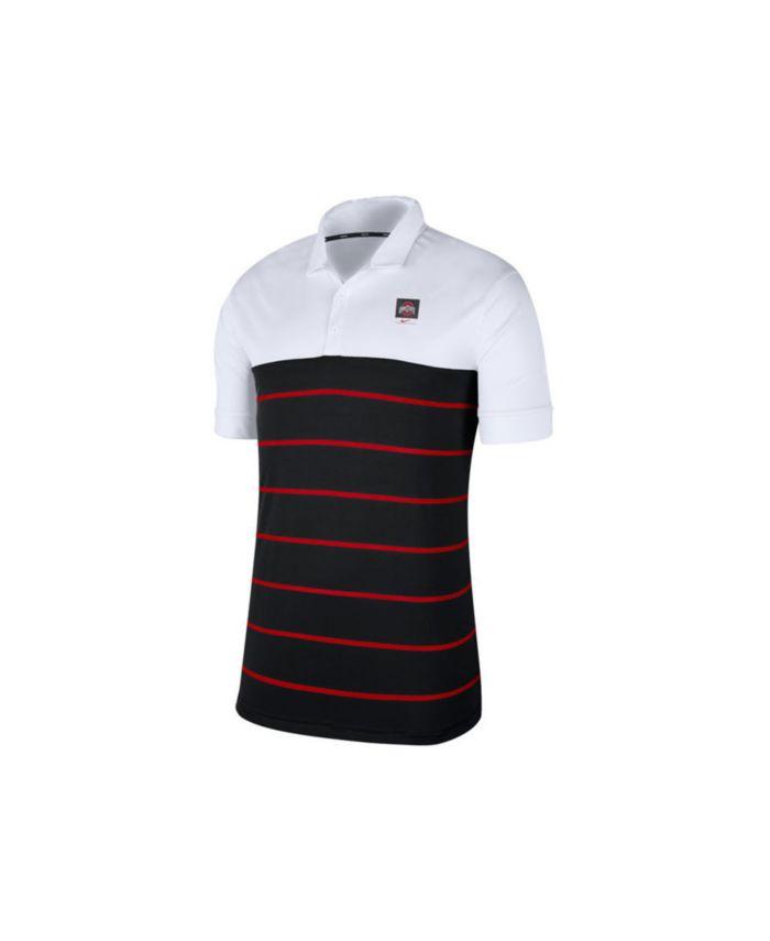 Nike Ohio State Buckeyes Men's Striped Polo & Reviews - Sports Fan Shop By Lids - Men - Macy's