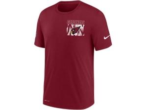 Nike Arizona Cardinals Men's Dri-Fit Cotton Facility T-shirt