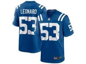 Nike Indianapolis Colts Darius Leonard Men's Game Jersey