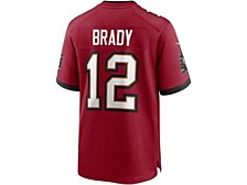 Men's Tampa Bay Buccaneers Game Jersey Tom Brady