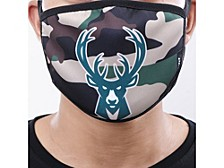 Milwaukee Bucks 2pack Face Mask