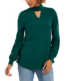 Long-Sleeve Tunic Sweater, Created for Macy's