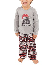 Matching Toddler Holiday Darth Vader Family Pajama Set