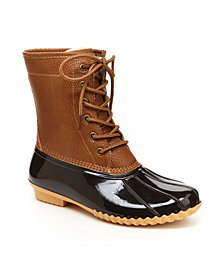 JBU Women's Maplewood Casual Duck Boot