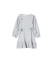Toddler Girls Beattie Long Sleeve Dress