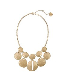 Gold-Tone Statement Necklace